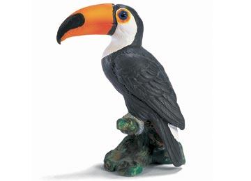 Plastik Toucan - merancang tampilan jahat dan tahu Teror