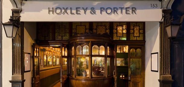 Hoxley & amp; amp; amp; Porter - Atas Jalan: Langkah mundur dalam waktu dan menikmati koktail Untuk 1920 Art Deco, dragon kolonial Inggris